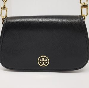 New Tory Burch Landon Mini Leather Crossbody